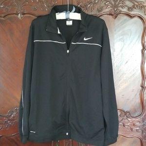 Nike black jacket sz XL dri-fit athletic coat